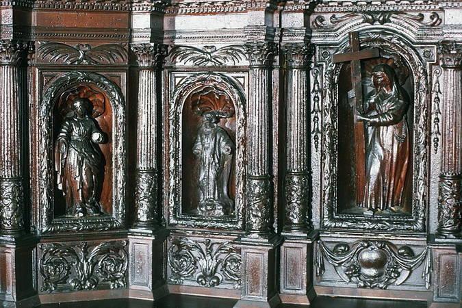 Visuel 5/7 : Ancien tabernacle du maître autel du couvent des Récollets de Nyons (église Saint-Vincent)