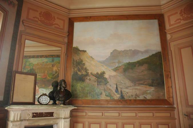 Visuel 6/8 : Décor et mobilier de la salle du conseil municipal