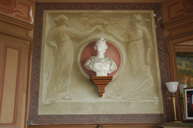 Visuel 7/8 : Décor et mobilier de la salle du conseil municipal