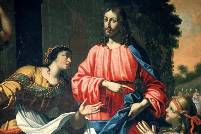 Visuel 2/3 : Le Christ chez Marthe et Marie