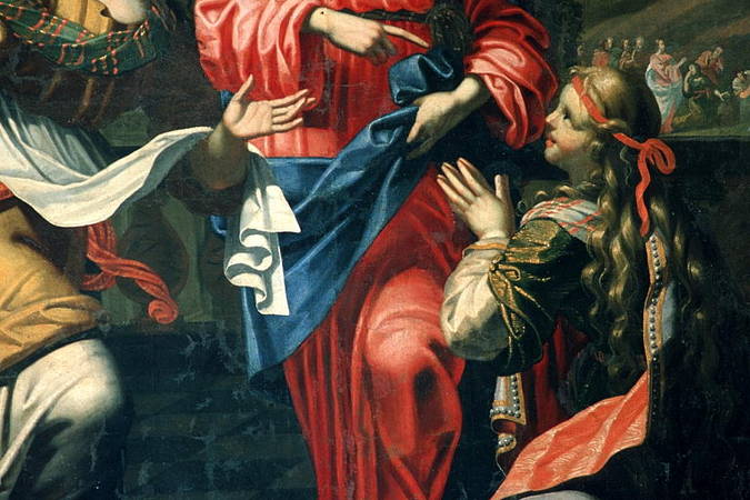 Visuel 3/3 : Le Christ chez Marthe et Marie