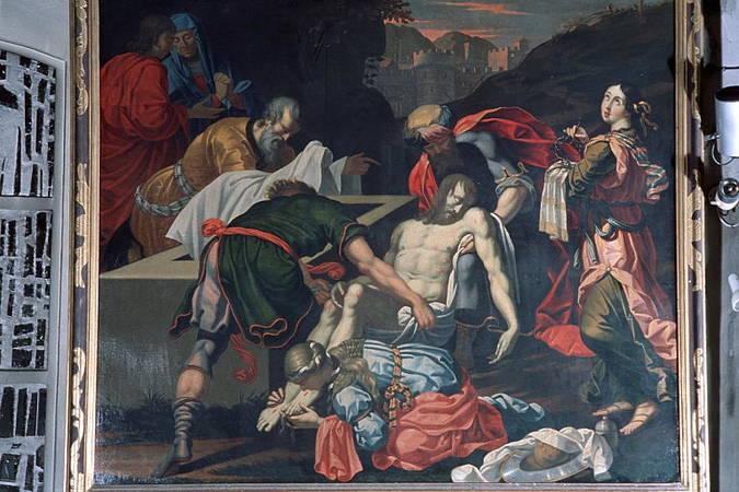 Visuel 1/5 : La mise au tombeau