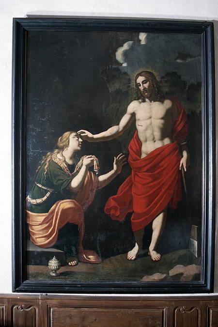 Visuel 1/3 : La rencontre du Christ et de Marie-Madeleine ou Noli me tangere