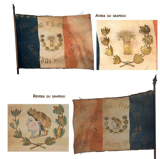 Visuel 1/12 : Collection de drapeaux des classes de conscrits