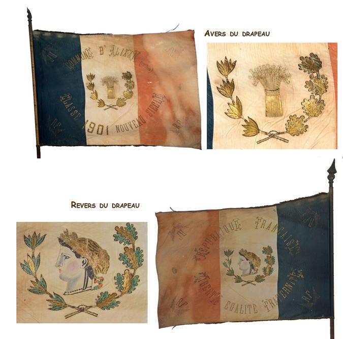 Visuel 1/12 : Collection de drapeaux des classes de conscrits