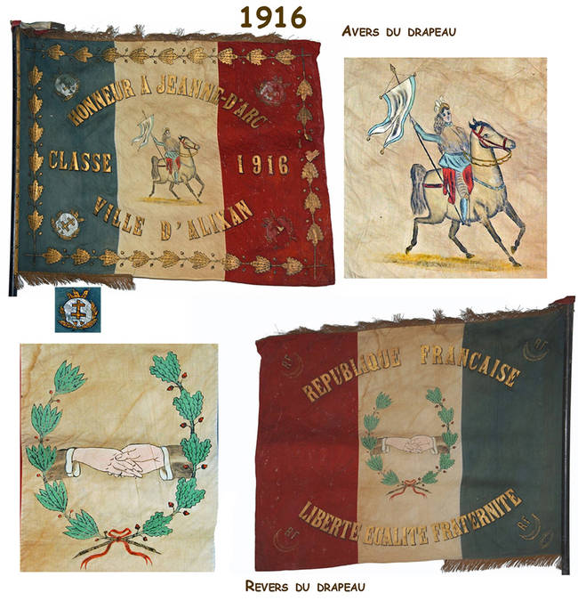 Visuel 2/12 : Collection de drapeaux des classes de conscrits