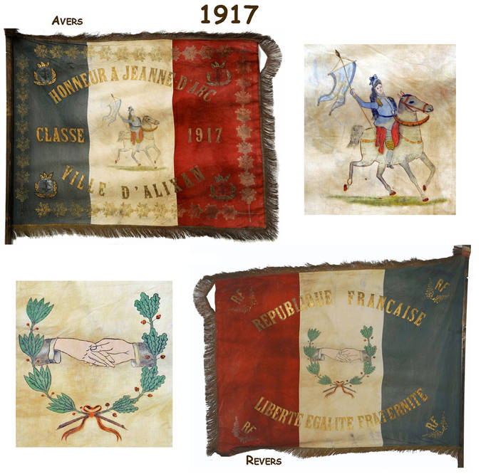 Visuel 3/12 : Collection de drapeaux des classes de conscrits