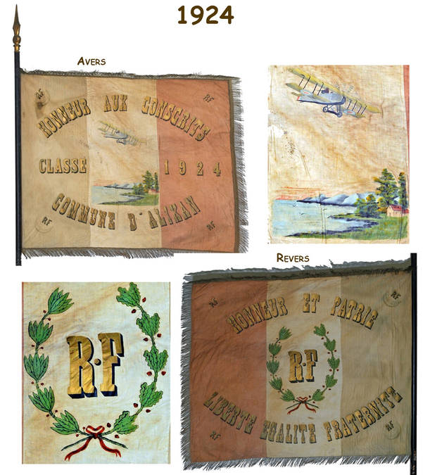 Visuel 5/12 : Collection de drapeaux des classes de conscrits