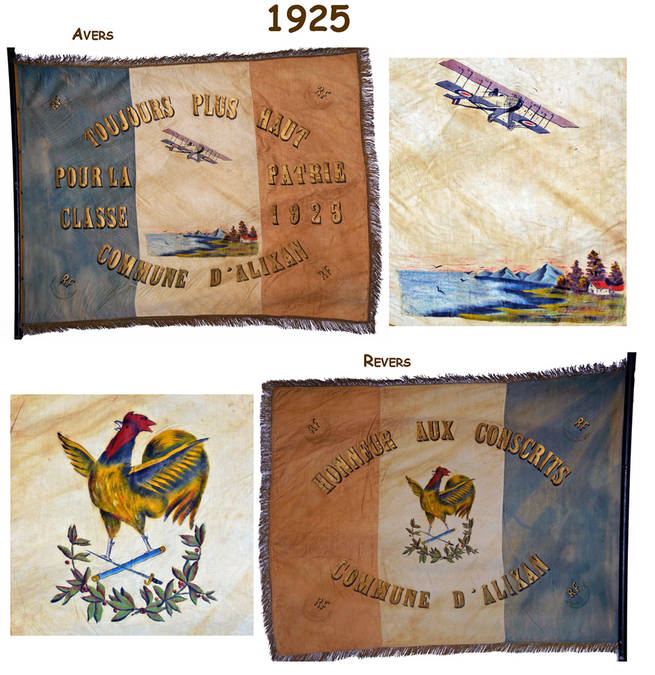Visuel 6/12 : Collection de drapeaux des classes de conscrits