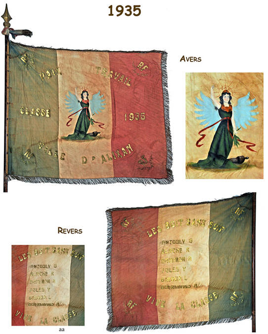Visuel 12/12 : Collection de drapeaux des classes de conscrits