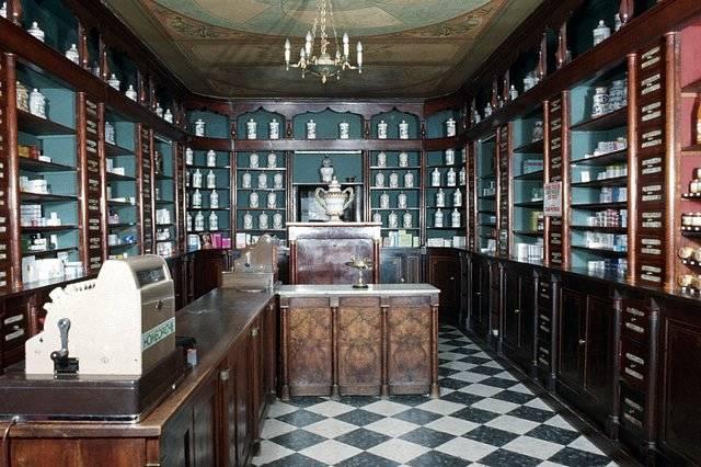 Visuel 5/7 : Pharmacie, devanture, mobilier et décor
