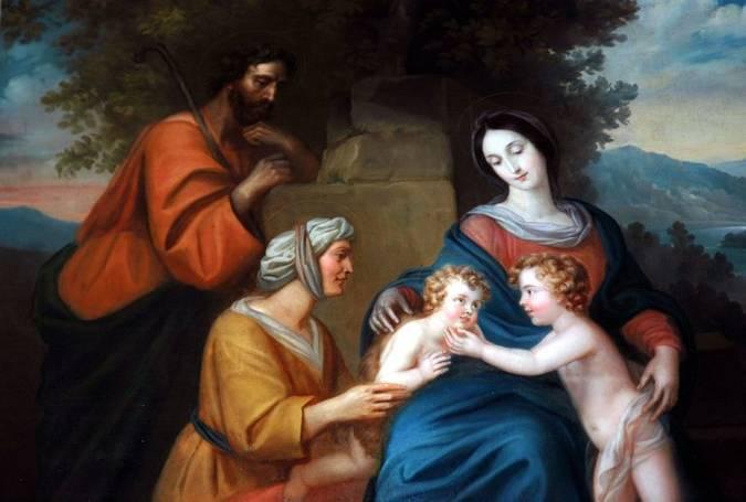 Visuel 1/1 : Tableau « La Sainte Parenté » - Eglise Saint Vincent