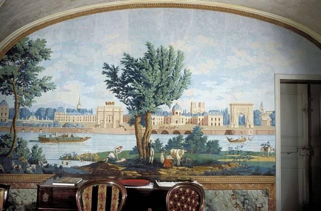 Visuel 2/3 : Papier peint panoramique « les monuments de Paris »