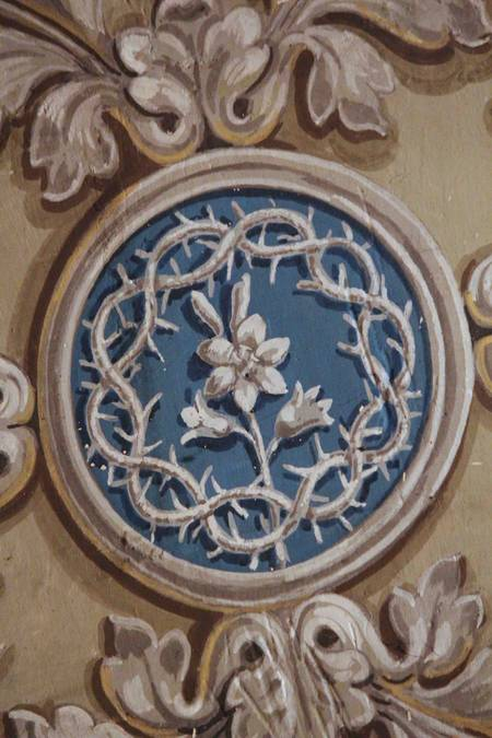 Visuel 3/4 : Décor peint de la chapelle Saint-Louis (collégiale Saint-Barnard)