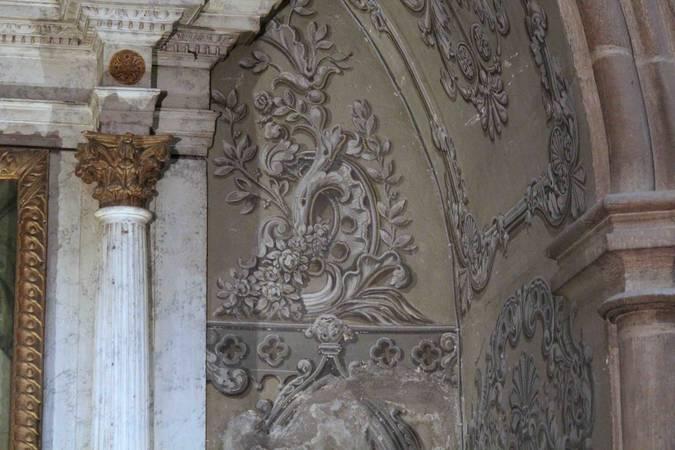 Visuel 1/4 : Décor peint de la chapelle Saint-Louis