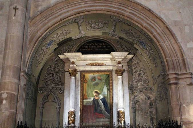 Visuel 4/4 : Décor peint de la chapelle Saint-Louis (collégiale Saint-Barnard)