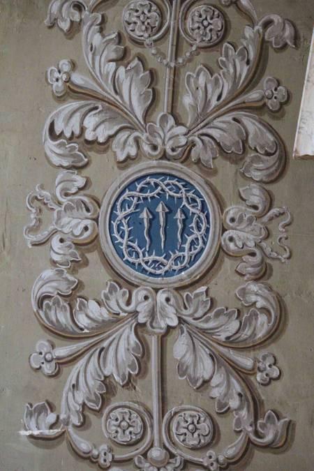 Visuel 2/4 : Décor peint de la chapelle Saint-Louis (collégiale Saint-Barnard)