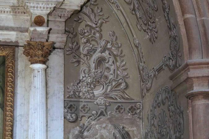 Visuel 1/4 : Décor peint de la chapelle Saint-Louis (collégiale Saint-Barnard)