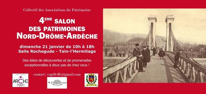 Visuel 1/1 : 4e FORUM DES ASSOCIATIONS DU PATRIMOINE