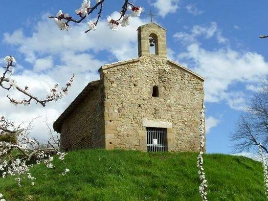 Visuel 1/2 : inauguration des vitraux de la Chapelle St Pierre de Marnas