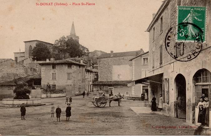 Visuel 2/2 : Place Saint-Pierre (actuelle place Jean-Jaurès)