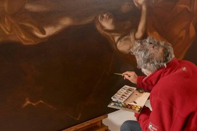 Visuel 1/1 : Restaurateur de peintures et de décors peints (Atelier Laurent Gerest)