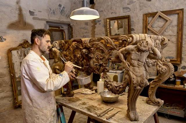 Visuel 1/2 : Restaurateur, doreur ornemaniste (Atelier Zador)