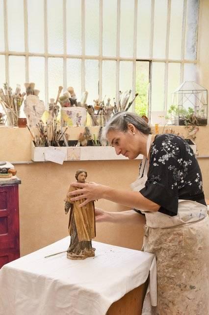 Visuel 1/2 : Restauratrice de sculptures et d'oeuvres d'art (Delphine Petit)