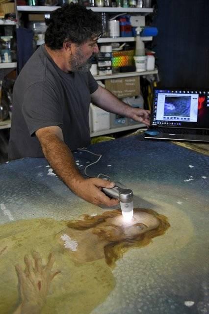 Visuel 1/2 : Restaurateur de tableaux, de sculptures polychromes et de peinture (Atelier Techne-Art)