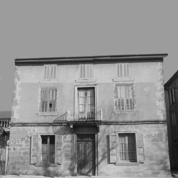 Visuel 1/2 : La Résistance civile à Saint-Donat (maison Métifiot)