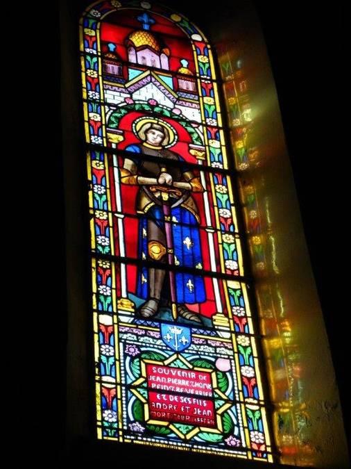 Visuel 5/6 : Vitraux de l'église Notre-Dame à Valence _ 1