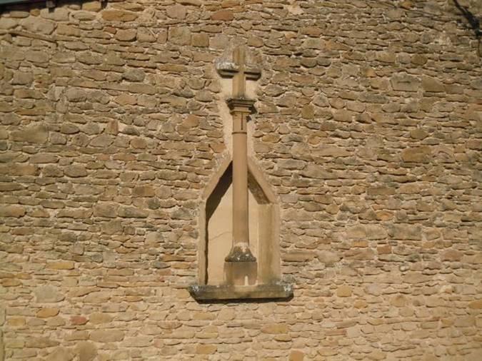 Visuel 1/1 : Croix insérée dans un mur