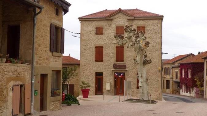 Visuel 1/3 : Mairie de Marsaz