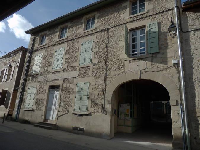Visuel 1/3 : Ancienne mairie et relais de poste
