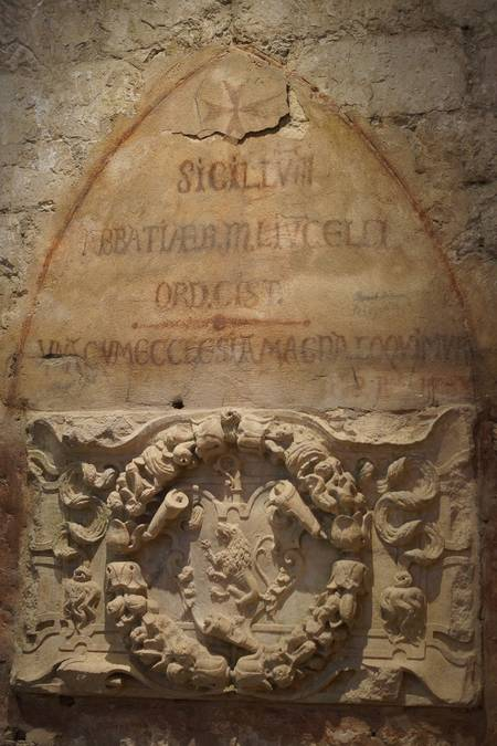 Visuel 2/2 : Abbaye : les armoiries