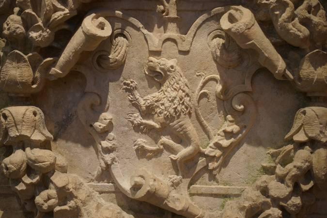 Visuel 1/2 : Abbaye : les armoiries