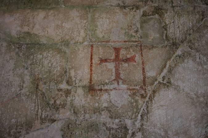 Visuel 2/3 : Abbaye : les symboles dans l'église
