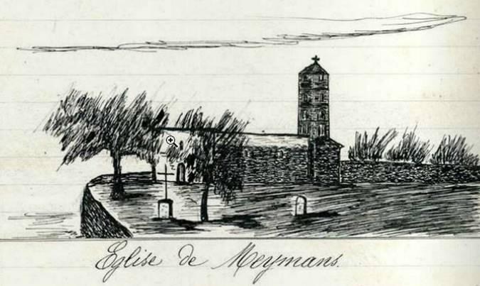 Visuel 8/9 : Eglise Sainte ANNE -  MEYMANS