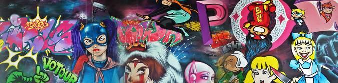 Visuel 2/3 : street art pont des lones