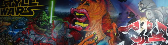 Visuel 2/2 : street art pont des lones