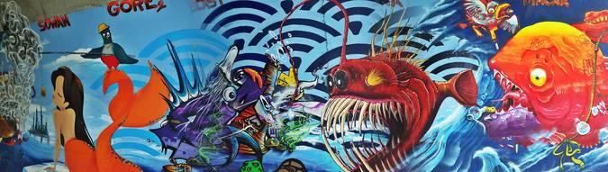 Visuel 1/2 : street art pont des lones