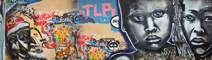 Visuel 1/2 : street art la fabrique