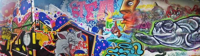 Visuel 1/8 : street art la fabrique