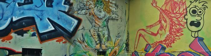 Visuel 5/8 : street art la fabrique