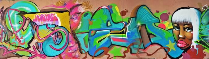 Visuel 1/6 : street art pont des lones