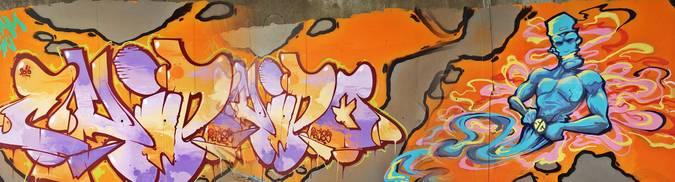 Visuel 2/6 : street art pont des lones