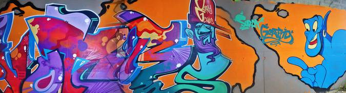 Visuel 3/6 : street art pont des lones