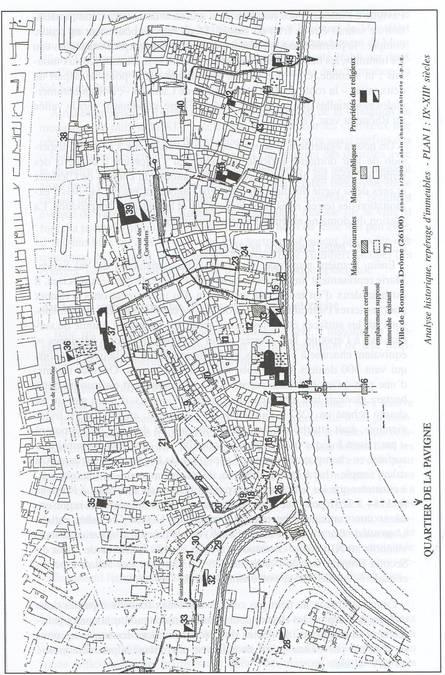Visuel 1/3 : L'implantation des Chartreux en plaine : Romans