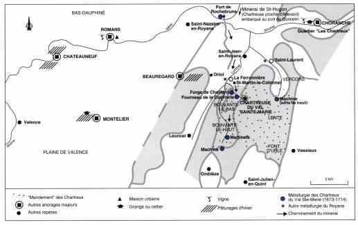Visuel 3/3 : L'implantation des Chartreux en plaine : Romans