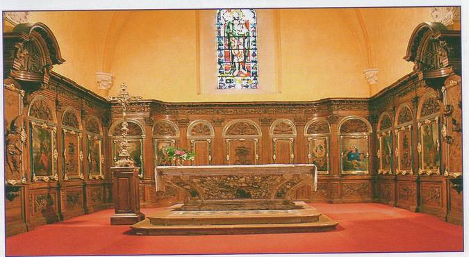 Visuel 1/4 : Autel et boiseries (Eglise St Jean-Baptiste)
